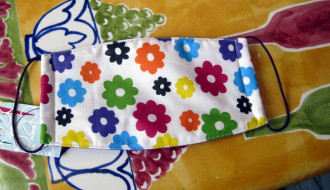"Masker ""Colourful-Flower"""
