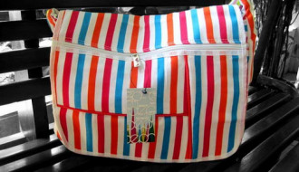 Tas Salur: Medium Pink-Orange
