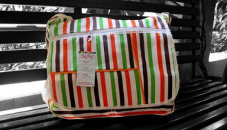 Tas Salur: Medium Orange-Hijau
